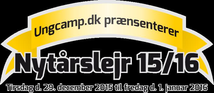 Ungcamp.dk præsenterer Nytårslejr 2015/2016
